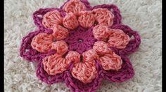 Crocheted flower 42