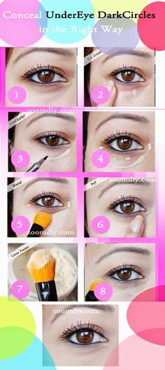 The Best and Easiest Way to Conceal Under Eye Dark Circles Using Makeup.. Must A Suggest For those with those not so good dark circles..