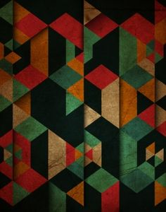 Vintage grunge background with a geometric pattern