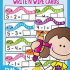 This printable pdf file will allow you to print and make 45 activity cards to help your students learn to count-back for subtraction.   Each card f...