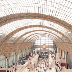 16 Places to visit in Paris - The Musee dOrsay: The Musee dOrsay is a museum in Paris, France, on the left bank of the Seine. It started to be constructed in 1897 and was designed by Gae Aulenti, Victor Laloux, and Emile Bernard. The Musee dOrsay is an art museum for works from 1848 to 1914 and has an emphasis on French Impressionism artwork. One can walk through the museum room by room. There are sections on Symbolism, Naturalism, Impressionism, Pont Aven School, and Art Nouveau to name ...
