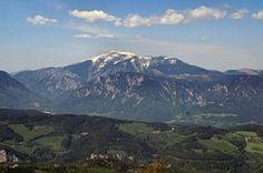 Blick vom Sonnwendstein (Süden) auf den Schneeberg