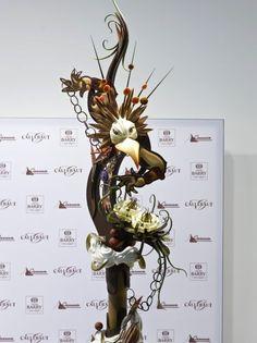 「ワールド チョコレート マスターズ 2011」植崎シェフによるチョコレートのピエスモンテ