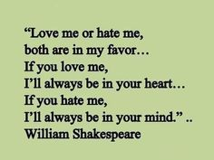This quote must have been translated cause I understand it and I never understand anything William Shakespeare says...