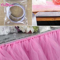 Prispôsobili Tulle Tutu Tabuľka sukne pre Tutu bábätko Dekorácie Svadobné tabule sukne dekorácie Bytový textil Party Tabuľka prostredím v tabuľke sukne z Dom a záhrada o Aliexpress.com | Alibaba Group