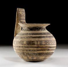 IV c.B.C. Daunian ware high-handled jar