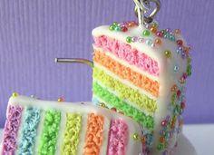 Beautiful pastel layered cake