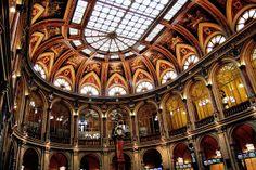 La Bolsa de Madrid Interior Sala de Contratacion Abside reloj 10446   Flickr: Intercambio de fotos