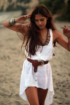 This could be a cute swimsuit cover up!