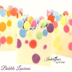 Bubble Luscious Handmade Vegan Cold Process Artisan by svsoaps, $7.50