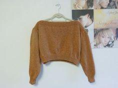 Cropped Boatneck Sweater Pattern « girlmeetsyarn