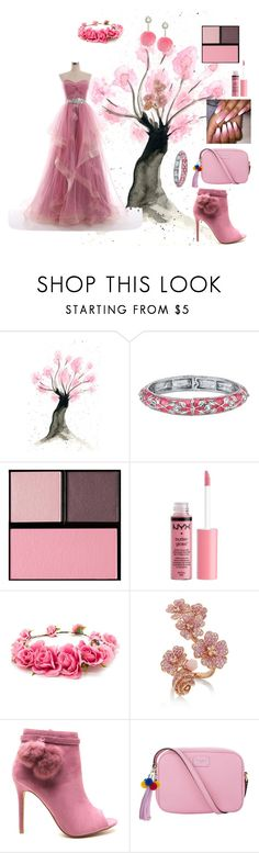 """""""Blossoming beauty"""" by ashleyhuang68 ❤ liked on Polyvore featuring 1928, Surratt, Charlotte Russe, Forever 21, Dolce&Gabbana and Rock 'N Rose"""