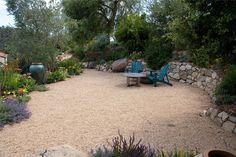 Dry Stack Retaining Wall  Retaining and Landscape Wall  Grace Design Associates  Santa Barbara, CA