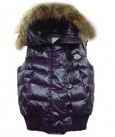 a9055bef54d8 Moncler Tarn Womens Down Vest Rabbit Hats Zip Purple www.onlakemac.com Store  Online