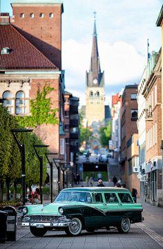 vintage station wagon, sweden #cars