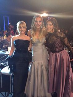 Ladies of BBt- Melissa Rauch, Kaley Cuoco and Mayim Bialik