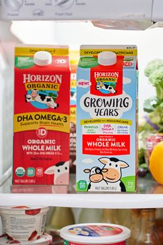 Incredible organic whole milk taste with specifically selected nutrients for children ages 1 to That's Growing Years. Vitamin D, Brain Health, Milk, The Incredibles, Nutrition, Organic, Children, How To Make, Food