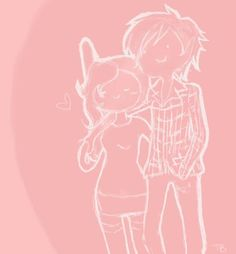 Marshall Lee And Fionna by Eruthiawenable.deviantart.com on @deviantART