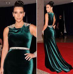 Kim Kardashian's Grecian Glamour