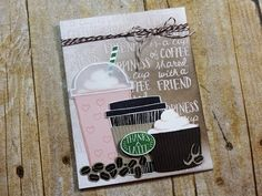 Summer Coffee Lovers Blog Hop 2017 | Stampin' Up Coffee Cafe - YouTube