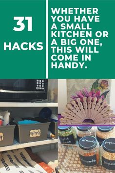 How to organize declutter your kitchen. Declutter kitchen with these 31 life hacks. Get decluttering ideas kitchen. Declutter kitchen countertops and declutter kitchen cabinets and declutter countertops with these ideas from Hometalk. Kitchen Hacks, Kitchen Storage, Kitchen Ideas, Kitchen Organization, Kitchen Decor, Kitchen Cleaning, Storage Organization, Deep Cleaning, Cleaning Hacks