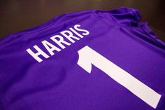 Ashlyn Harris's jersey for the Orlando Pride presentation