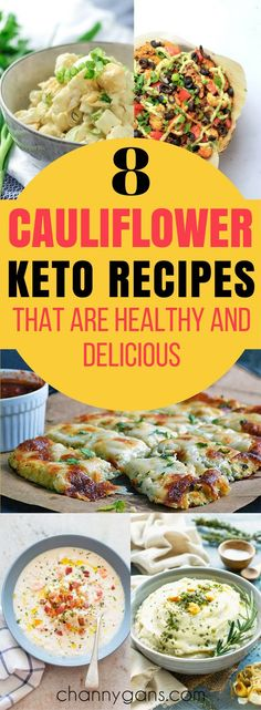 These cauliflower keto recipes are AWESOME! Now I can make delicious keto friendly meals! Definitely repinning! #keto #ketorecipes
