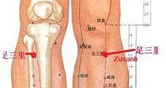 """Vücudunuzun uzun ömür noktası"""": Zu San Li"""
