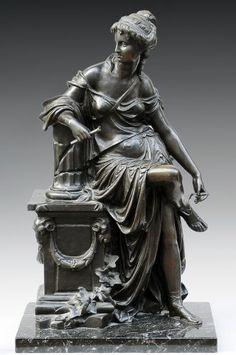 Sculpture en bronze signée Rancoulet. Ernest Rancoulet (1870-1915). Signature Ernest Rancoulet Dimensions L. 62 cm