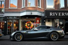 """Ferrari 599 GTO. I love """"red cars"""" that aren't red. Argento Nurburgring - https://www.luxury.guugles.com/ferrari-599-gto-i-love-red-cars-that-arent-red-argento-nurburgring/"""