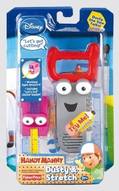 Fisher-Price Talkin' Tools - Stretch and Dusty *** To view further for this item, visit the image link.