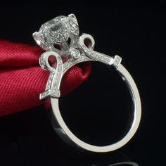 925 sterling silver wedding rings diamond-jewelry big round CZ diamond love ring for women hollow crown bague femme anillos Sterling Silver Wedding Rings, Diamond Wedding Rings, Wedding Ring Bands, Diamond Engagement Rings, Silver Jewelry, 925 Silver, Diamond Jewelry, Wedding Jewelry, Silver Ring