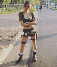 Pin for Later: 23 Creative Cosplay Ideas That Are Downright Sexy Lara Croft