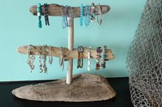 Driftwood bracelet display