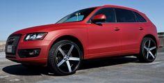 Audi Q5 on Vossen VVS-CV3