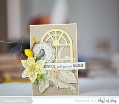 Whiff of Joy blog hop/ Блог Хоп от WOJ #whiffofjoy, #eco, #cardmaking