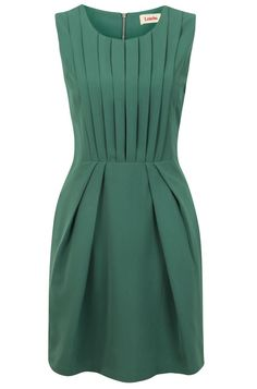 Louche Renn Pleat Front Dress (with pearls)