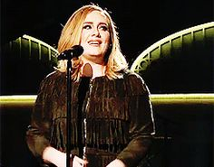 Adele #gif Loved this moment on SNL!