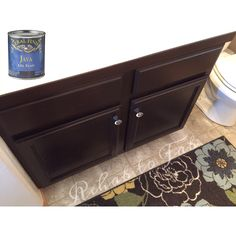 The 1 coat wonder came to the rescue on my outdated builder grade honey oak cabinets. I thoroughly cleaned any dirt, oils & toothpaste off. I then went over the cabinet with a 220 grit sand paper. Just enough to buff back the previous finish & to give the gel stain something to grip on to. I painted on one coat and here in Denver only had to wait 12 hrs (suggested time is 48hrs) before applying a light second coat. In between coats I used 0000 Steal Wool. Arm-R-Seal to protect is the last step.