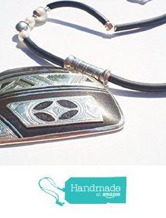 Exclusively by Niani. Ebony and fine silver stunning necklace. from Niani Gallery https://www.amazon.com/dp/B01KJCSGA4/ref=hnd_sw_r_pi_dp_KXdGybE4NK0Z4 #handmadeatamazon