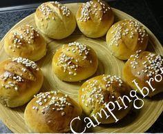 Rezept Campingbrötchen, wie vom Bäcker von Schnitchen1973 - Rezept der Kategorie Brot & Brötchen