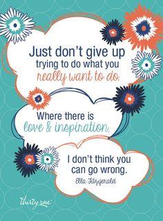 Love & Inspiration  www.mythirtyone.com/shannonadair