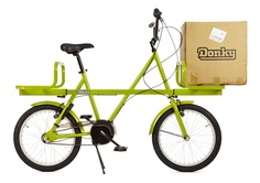 DONKY BIKE IS A VERSATILE LOAD CARRIER