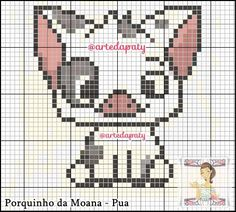 Melty Bead Patterns, Perler Patterns, Beading Patterns, Embroidery Patterns, Disney Cross Stitch Patterns, Modern Cross Stitch Patterns, Cross Stitch Designs, Disney Stitch, Cross Stitching