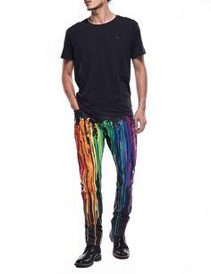 3cb2dea027af EVISU x INSA Daicock Raw Denim Jeans - Couple Sets - Men. EVISU official