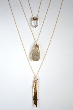 Layering Necklaces via Etsy