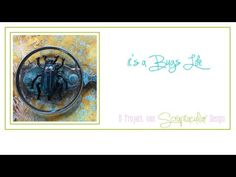 It's a Bugs Life, een Etcetera Tag met Distress Embossing Glaze - YouTube
