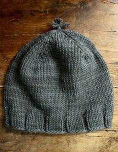 Thank You Hats by the purl bee, free pattern