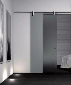 Sistema de fijación en riel para puerta corredera - V-2000 - METALGLAS