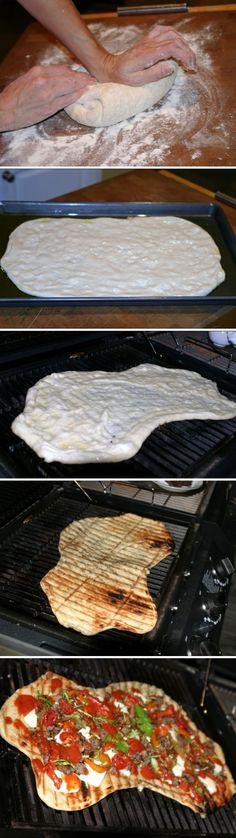 Grilled Pizza Super Secret Recipe - dinner, grilled, pizza, recipes
